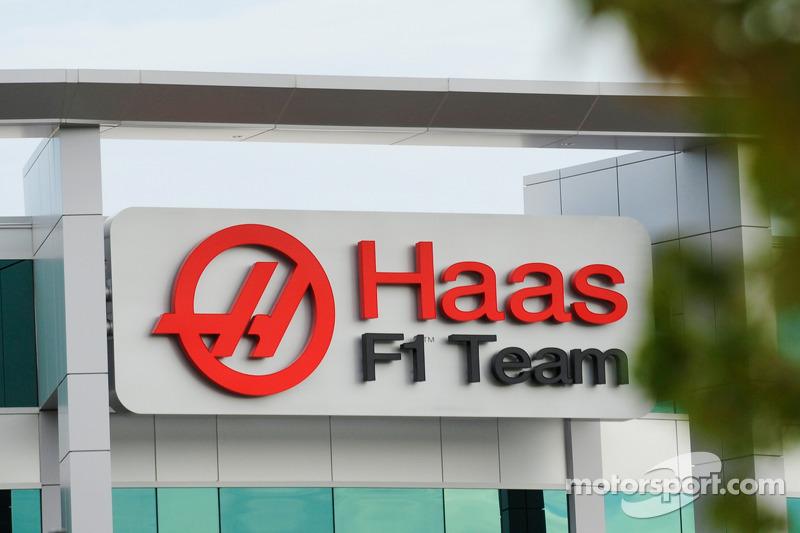 Das Haas F1 Team Hauptquartier in Kannapolis, N.C.