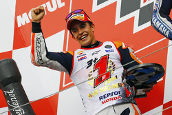 Podium: second place and 2014 champion Marc Marquez, Repsol Honda Team