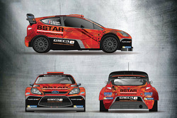 The 8Star Motorsports and Oreca-Store.com livery to be run by Stéphane Sarrazin