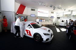 Presentation of the new Audi TT Cup 2015