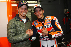 Casey Stoner and Marc Marquez
