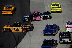 Trouble for Jeb Burton and John Hunter Nemechek