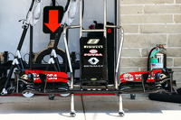 New Lotus F1 E22 front wing