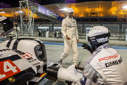 Neel Jani is thankful after achieving pole