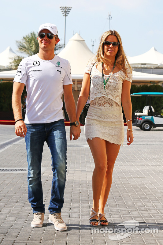 Nico Rosberg mit Vivian Rosberg