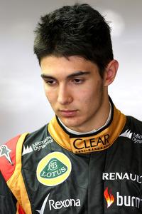 Esteban Ocon, Lotus F1 Team