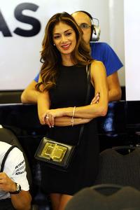 Nicole Scherzinger, Singer girlfriend of Lewis Hamilton, Mercedes AMG F1