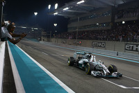 Lewis Hamilton, Mercedes AMG F1 W05 takes the win and 2014 World Championship