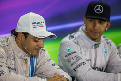 Felipe Massa, Williams in the FIA Press Conference