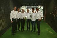 Andre Lotterer, Marcel Fässler, Benoit Tréluyer, Loic Duval, Lucas di Grassi, Tom Kristensen