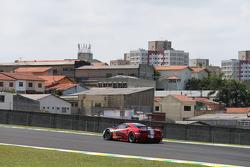 #81 AF Corse Ferrari 458 Italia: Stephen Wyatt, Michele Rugolo, Andrea Bertolini