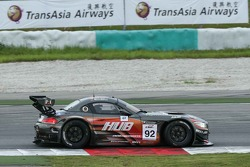 #92 Team AAI BMW Z4: Morris Chen, Ryohei Sakaguchi, Marco Seefried
