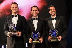 WEC drivers Marc Lieb, Romain Dumas, Neel Jani, Porsche Team