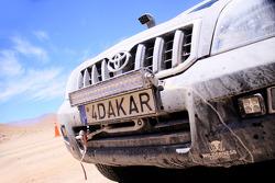 Dakar plate detail