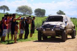 #339 Toyota: Benediktas Vanagas, Andrei Rudnitski in trouble