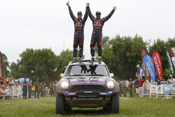 Car category winners #301 Mini: Nasser Al-Attiyah, Mathieu Baumel