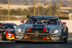 #6 Gravity Racing International Mercedes SLS AMG GT3: Vincent Radermecker, Eric Lux, Gérard Lopez, Loris de Sordi, Andy Ruhan