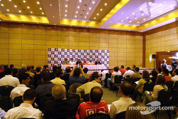 Bridgestone press conference