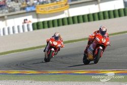 Loris Capirossi and Troy Bayliss