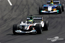 Zsolt Baumgartner and Felipe Massa