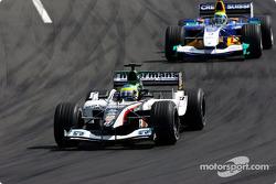 Zsolt Baumgartner and Felipe Massa