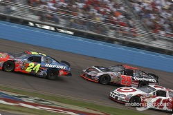 Jeff Gordon, Kevin Harvick and Casey Mears