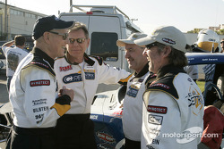Paul Newman, Robert Sutton, Rod Millen and Jeff Zwart