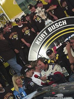 Interview for 2004 NASCAR NEXTEL Cup champion Kurt Busch