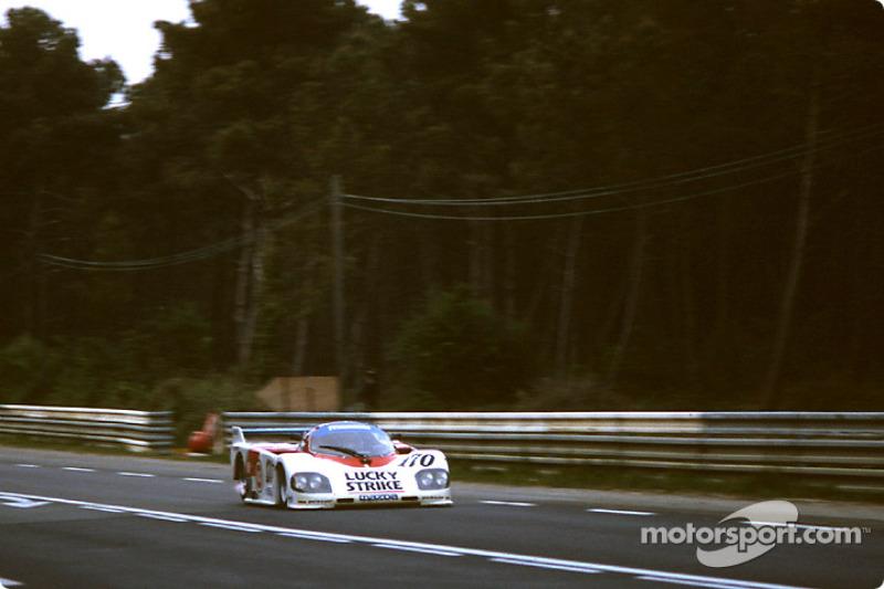 #170 Mazdaspeed Mazda 757: David Kennedy, Mark Galvin, Pierre Dieudonné
