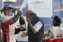 LM P1 podium: Seiji Ara still at it