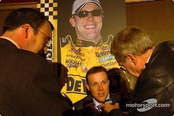 Matt Kenseth at the NASCAR press conference