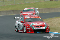 Paul Dumbrell and team mate Alex Davison