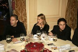 Race of Champions VIP dinner: Tony Kanaan and Felipe Massa