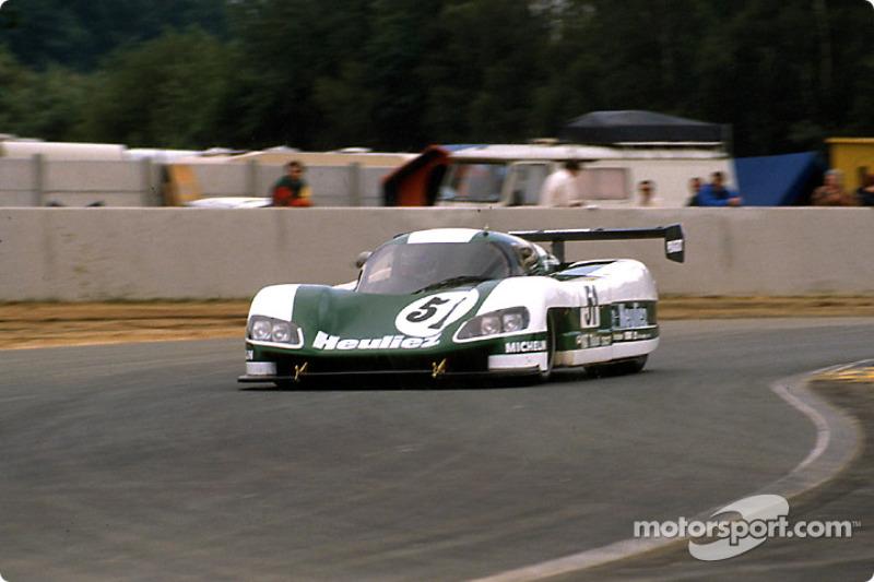 #51 WM Secateva WM P489 Peugeot: Roger Dorchy, Michel Maisonneuve