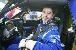 Josep-Maria Servia and Arnaud Debron test the Schlesser-Ford Raid