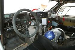 Cockpit of Giniel De Villiers' Nissan
