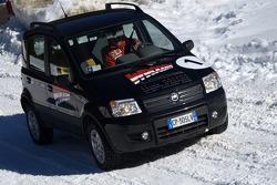 Fiat Panda race: Michael Schumacher