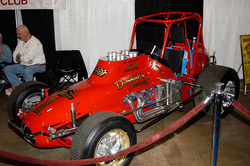 Replica of the Dobbins #1 Sprint Car, driven by Pancho Carter in the 1970s.