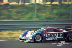 #83 Nissan R90CK:  Geoff Brabham, Chip Robinson, Derek Daly