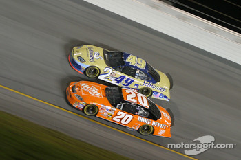 Tony Stewart and Ken Schrader