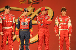 Drivers presentation: Jeremy Mayfield, Jeff Gordon, Dale Earnhardt Jr. and Kasey Kahne