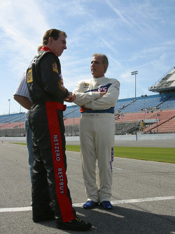 Mike Bliss and Derrike Cope
