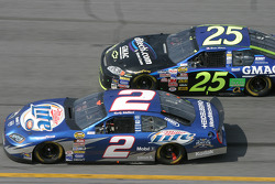 Rusty Wallace and Brian Vickers