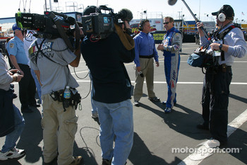 Media attention for Rusty Wallace