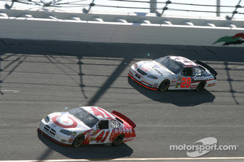 Casey Mears and Kevin Harvick
