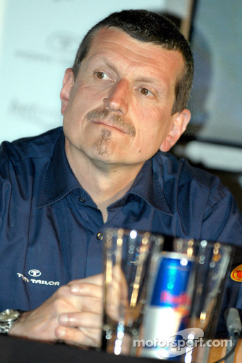 Red Bull Racing press conference: Guenther Steiner