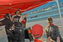 Howard - Boss Motorsports crew members celebrate