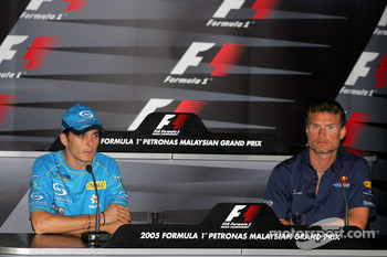 FIA Thursday press conference: Giancarlo Fisichella and David Coulthard
