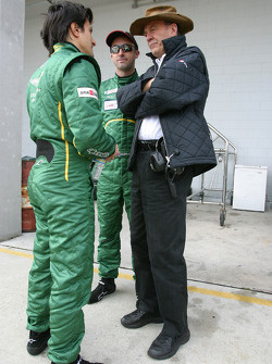 Stéphane Ortelli and David Brabham