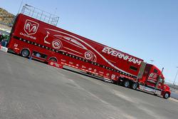 Evernham Motorsports transporter